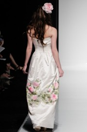 Alan Hannah Wedding Dress Gardenia