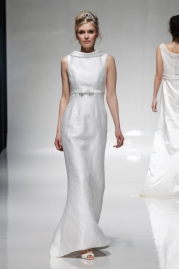 Alan Hannah Wedding Dress Georgette