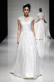 Alan Hannah Wedding Dress Sandalwood