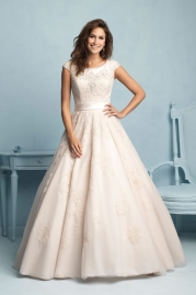 Allure Modest Wedding Dress M530