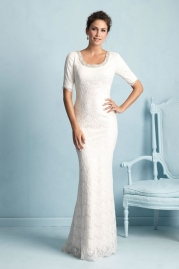 Allure Modest Wedding Dress M532