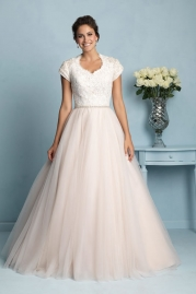 Allure Modest Wedding Dress M533