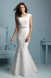 Allure Modest Wedding Dress M534