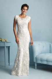 Allure Modest Wedding Dress M536