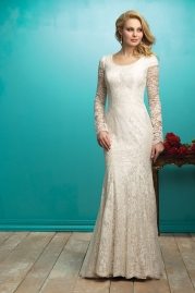 Allure Modest Wedding Dress M545