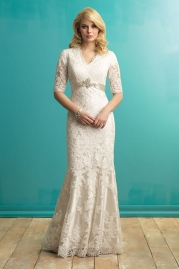 Allure Modest Wedding Dress M546