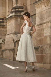 Annais Bridal Dress Wilma back