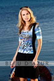 BLUE D AZUR Ajaccio Dress
