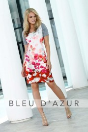 BLUE D AZUR Antigua Dress