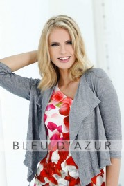 BLUE D AZUR Berlin Cardigan & Cannes Top