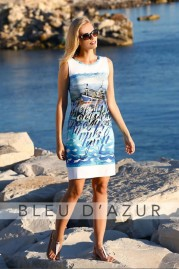 BLUE D AZUR Bonifacio Dress