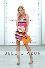 BLUE D AZUR Cassis Dress