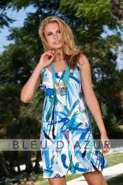 BLUE D AZUR Celine Dress