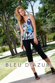 BLUE D AZUR Christine Top & Lola Pants
