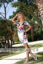 BLUE D AZUR Claire Dress