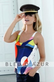 BLUE D AZUR Georges Top