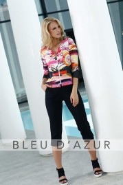 BLUE D AZUR Goyave Shirt & Lola Pants