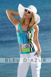 BLUE D AZUR Grenade Top & Khloe Pants