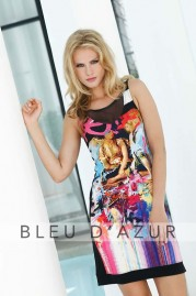 BLUE D AZUR Louvre Dress