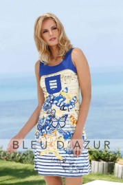 BLUE D AZUR Maia Dress