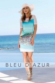 BLUE D AZUR Marina Dress
