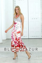 BLUE D AZUR Melbourne Dress