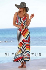 BLUE D AZUR Mosaiques Dress