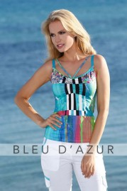 BLUE D AZUR Nassau Top & Khloe Pants