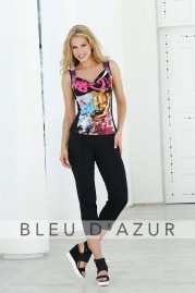 BLUE D AZUR Orsay Top & Lola Pants