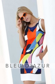 BLUE D AZUR Paul Dress