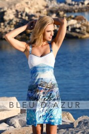 BLUE D AZUR Porquerolles Dress