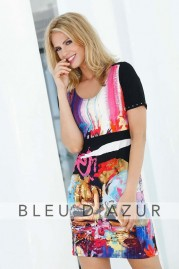BLUE D AZUR Prado Dress