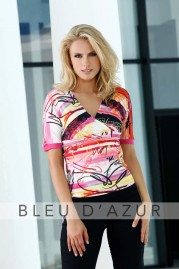 BLUE D AZUR Rose T Shirt & Lola Pants