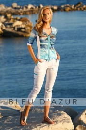BLUE D AZUR Saint Malo Shirt & Khloe Pants