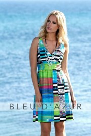 BLUE D AZUR Sainte Lucie Dress