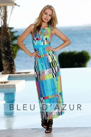 BLUE D AZUR Tobago Dress