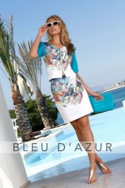 BLUE D AZUR Vic Top & Garrix Skirt