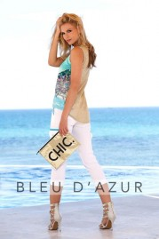 BLUE D AZUR Victoria Top & Khloe Pants