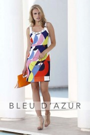 BLUE D AZUR Vincent Dress