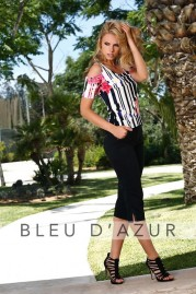 BLUE D AZUR Yelle T Shirt & Lola Pants