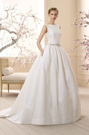 Cabotine Wedding Dress Roses