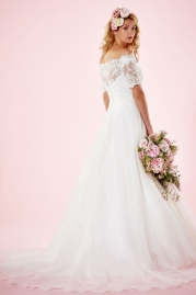 Charlotte Balbier Bridal Gown Alexandria Back