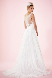 Charlotte Balbier Bridal Gown Aliona Back