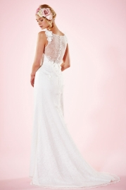 Charlotte Balbier Bridal Gown Beth Back