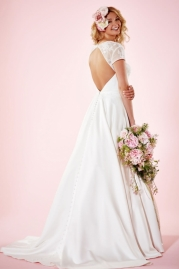 Charlotte Balbier Bridal Gown Camille Back