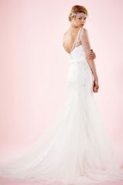 Charlotte Balbier Bridal Gown Cara Back