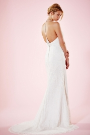 Charlotte Balbier Bridal Gown Erin Back