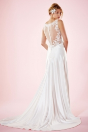 Charlotte Balbier Bridal Gown Everly Back