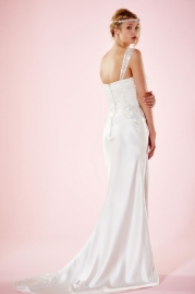 Charlotte Balbier Bridal Gown Harlow Back