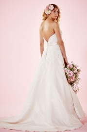 Charlotte Balbier Bridal Gown Heather Back